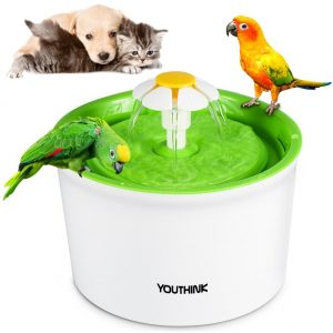 1.6 L Pet Cat Water Fountain from Youthink