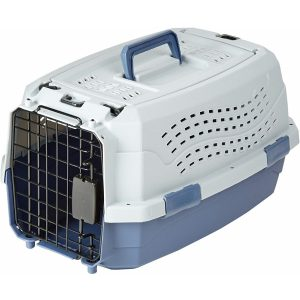 AmazonBasics Two-Door Pet Kennel
