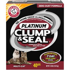 Arm And Hammer Clump & Seal Platinum Cat Litter