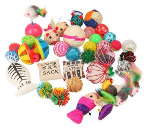 Assorted Cat Toys Variety Pack By Fashions Talk