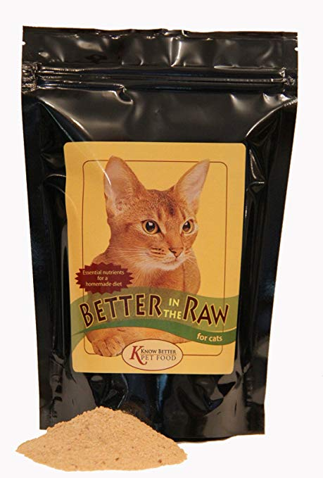 Better In The Raw For Cats Premix For Homemade Raw Cat Food