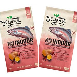 Beyond Indoor Salmon, Egg & Sweet Potato Dry Cat Food By Purina