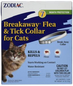 Breakway Flea And Tick Collar By Zodiac