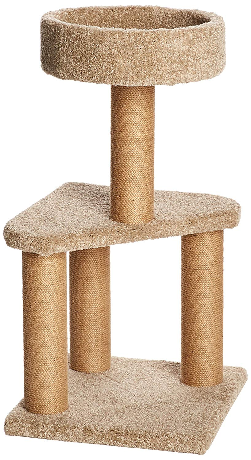 Cat Activity Tree With Scratching Posts by AmazonBasics