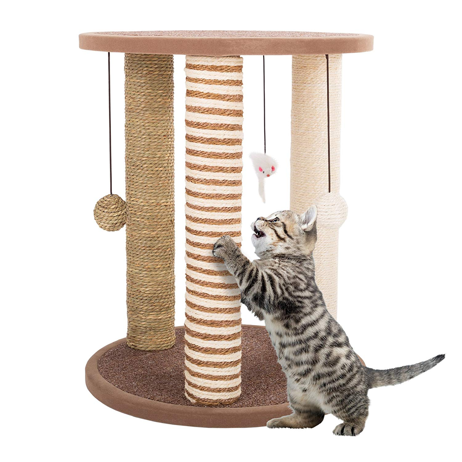 Cat Scratching Posts- Adult Cat and Kitten Tree