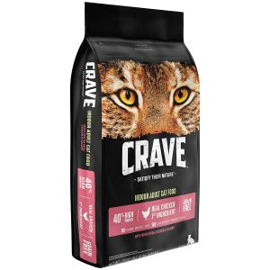 Chicken & Salmon High Protein Cat Food by Crave