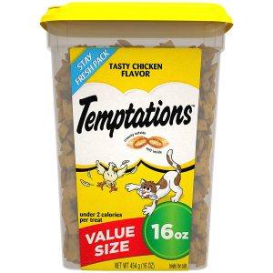 Classic Crunchy and Soft Cat Treats by Temptations