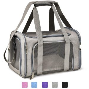 Collapsible Airline Approved Cat Carrier From Henkelion