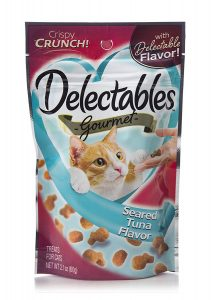 Delectables Crunchy Cat Treats By Hartz
