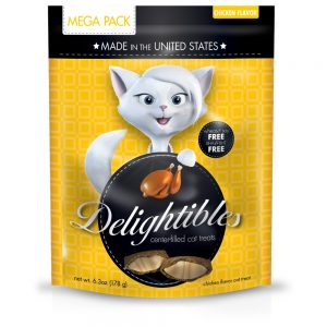 Delighitbles Center-Filled Gourmet Cat Treats