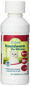 Excel Liquid Roundworm De-Wormer For Cats