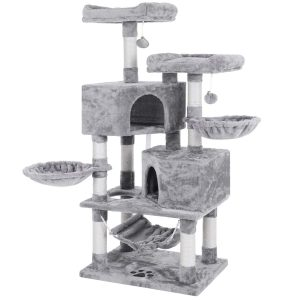 Feature-Rich, Multi-level Cat Tree Condo By Bewishome