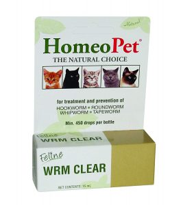 Feline Worm Clear By HomeoPet