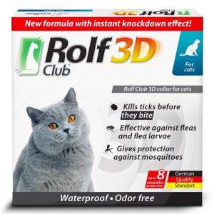 Flea Cat Collar By Rolf Club 3D