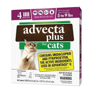 Flea and Tick Squeeze-On For Cats By Advecta