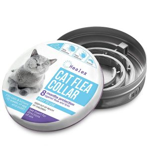 Flea and Tick Treatment and Prevention Cat Collar By Healex