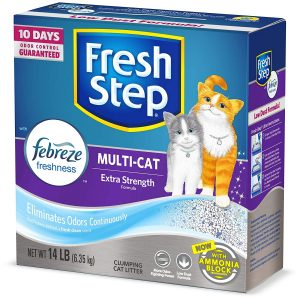 Fresh Step Clumping Cat Litter, Scented