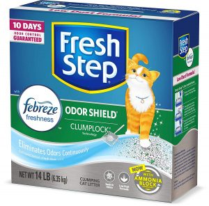 Fresh Step Odor Shield Scented Litter