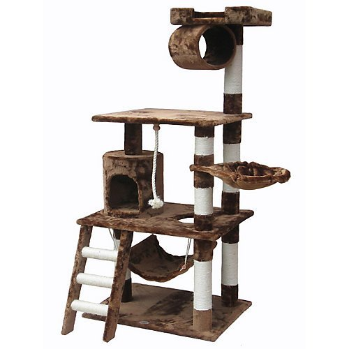 Go Pet Club Brown Cat Tree
