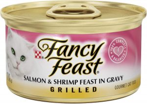 Gourmet Grilled Salmon and Shrimp Feast By Fancy Feast