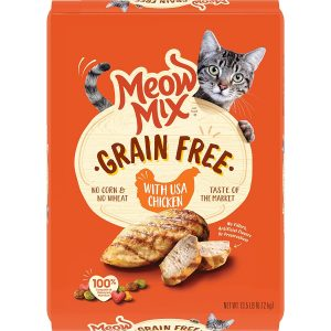 Grain-Free Cat Food By Meow Mix