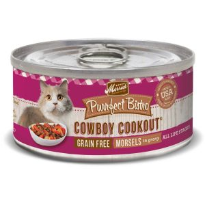 Grain-Free Cowboy Cookout Cat Food By Merrick Purrfect Bistro