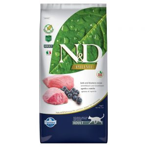 Grain-Free Lamb and Blueberry Adult Cat Food By Farmina Natural & Delicious