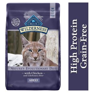 High Protein Chicken Cat Food by Blue Buffalo Wilderness