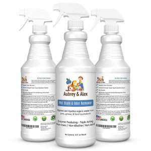 Industrial Strength Pet Stain & Odor Remover from Aubrey & Alex