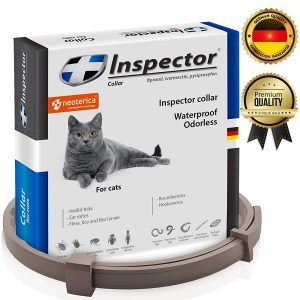 Inspector Flea And Worm Collar For Cats By Rolf Club 3d