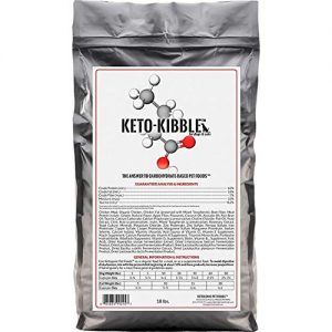 Keto-Kibble- Low Carb, High Protein, Grain-Free Cat Food from Ketogenic Pet Foods