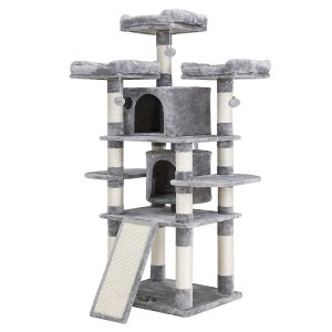 Large Cats Multi-Level Cat Tree By Feandrea