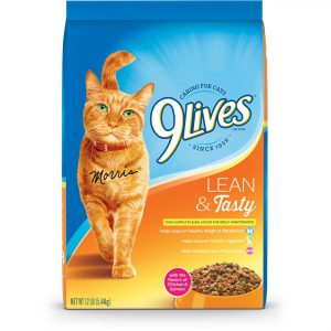 Lean & Tasty Dry Cat Food by 9Lives