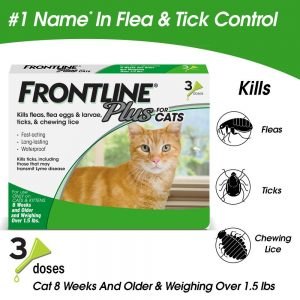 Long-lasting Flea and Tick Treatment By Frontline