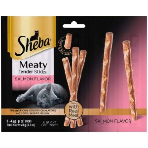 Meaty Tender Sticks Salmon Flavor By Sheba