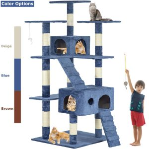 Multi-Level Cat Playpen With Activity Center By BestPet