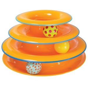 Multi-Level Cat Tracks With Moving Balls By Petstages