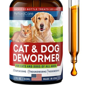 Natural Dewormer By Petford for Cats & Dogs