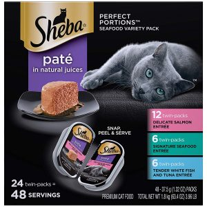 Perfect Size Wet Cat Food Pate By Sheba