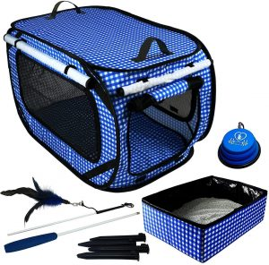 Portable Cat Cage from Pet Fit For Life