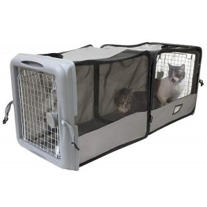 Portable Kennel for Pets From SportPet Designs