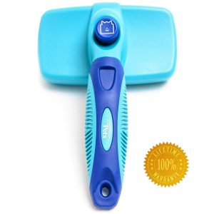 Pro Grooming Slicker Brush For Easy De-shedding By Cleanhouse Pets