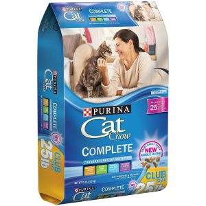 Purina 25 Lb Cat Chow Complete