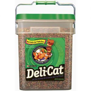 Purina Cat Food Deli-Cat in Pail