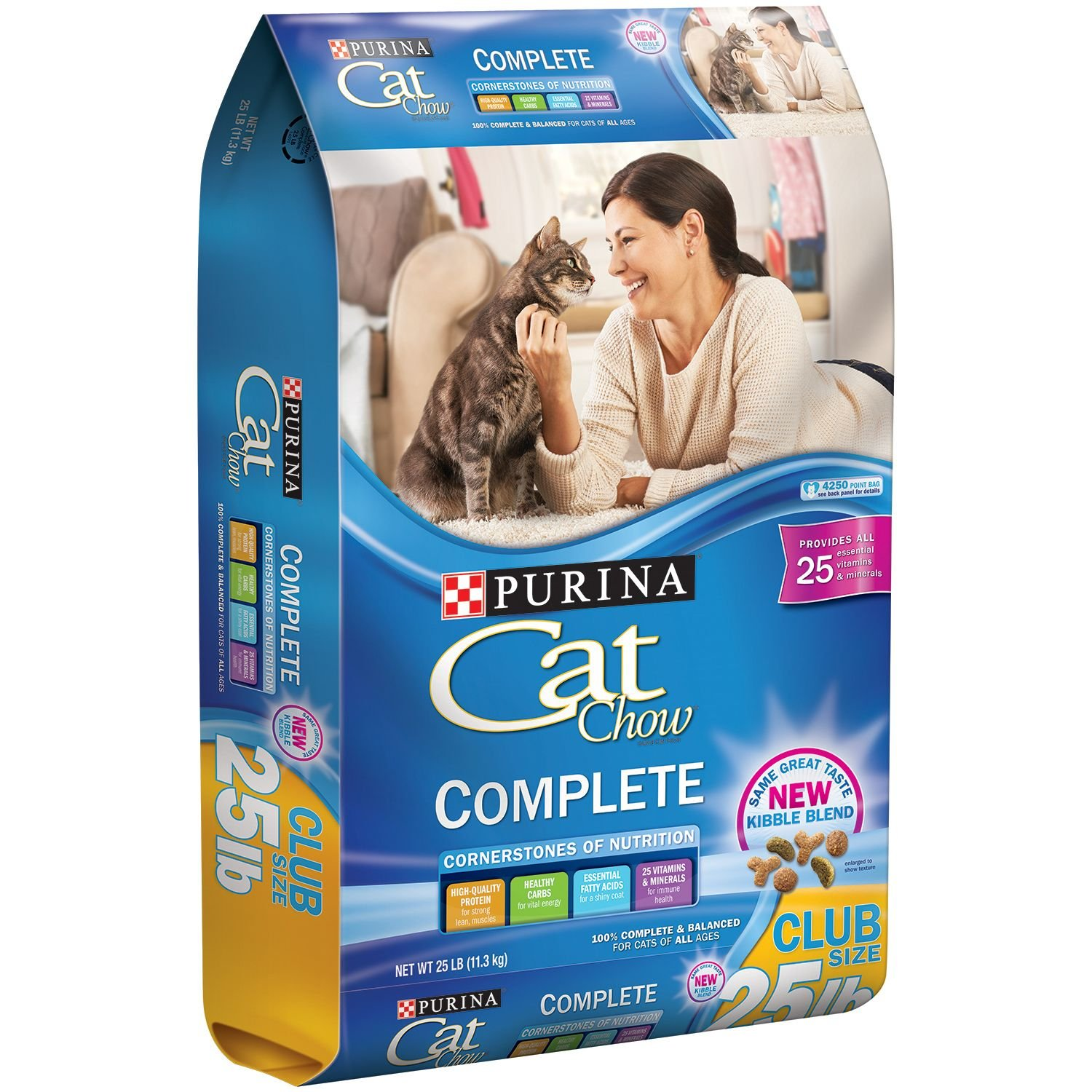 Purina Complete Cat Chow that Tastes Excellent