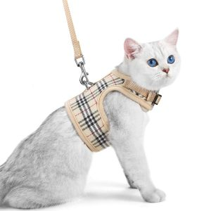Quality Cat Harness with Leash Set By Unihubys
