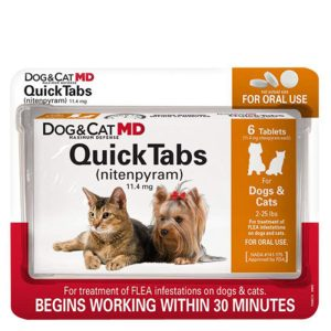 Quick Tabs from Dog & Cat MD By Capstar
