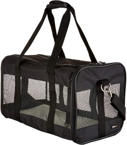 Soft-sided AmazonBasics Pet Carrier For Travelling