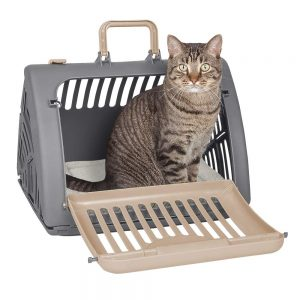 SportPet Front Door Foldable Cat Carrier for Travelling