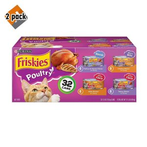 The Complete Wet Cat Food Variety Pack For Poultry Lovers By Purina Friskies